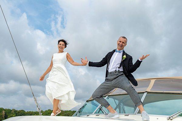 Heiraten zu zweit auf der Insel Rügen – Trauungen auf See mit dem Hochzeitsschiff Darie in Sellin an der Ostsee