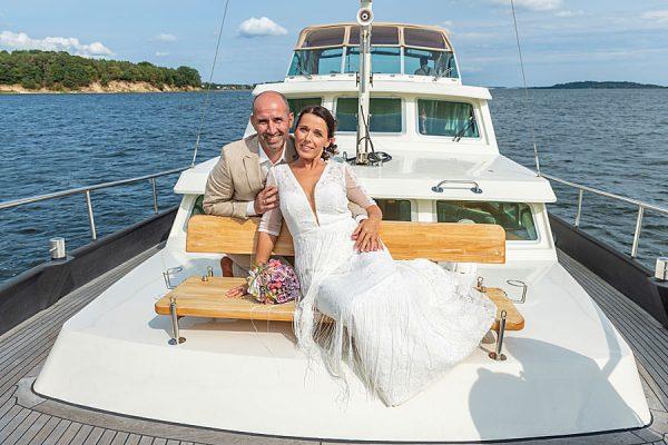Heiraten auf See mit dem Hochzeitsschiff Darie – offizielle Außenstelle vom Standesamt Mönchgut-Granitz auf Rügen